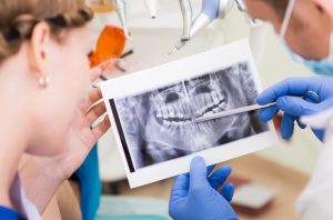 Dental X-ray or exam