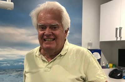 Dentist Dr John Collins